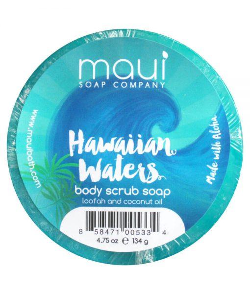 Hawaiian-Waters-Soap - Exfoliating cleanser - Hawaiian Soap from Maui Soap Company