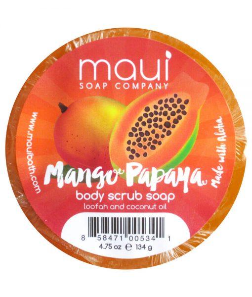 Mango-Papaya-Soap - Exfoliating cleanser - Hawaiian Soap from Maui Soap Company