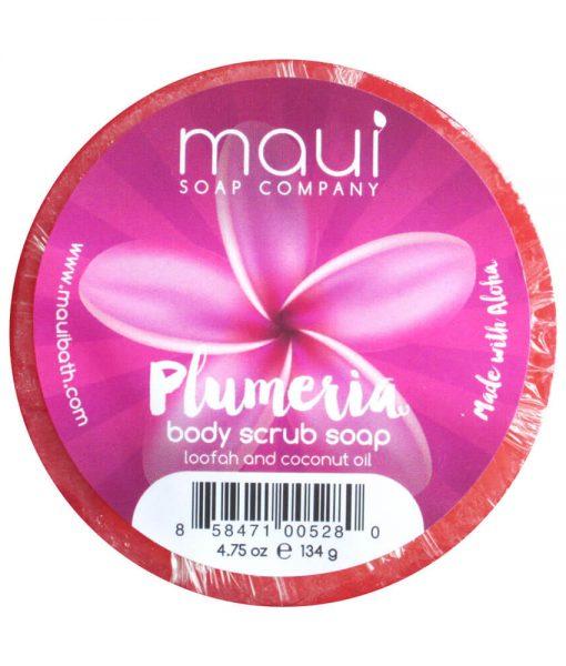 Plumeria Soap - Exfoliating cleanser - Hawaiian Soap from Maui Soap Company