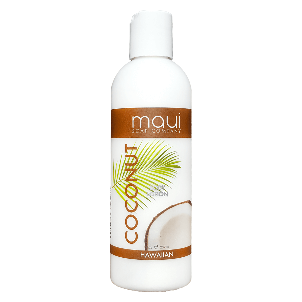 Organic coconut lotion